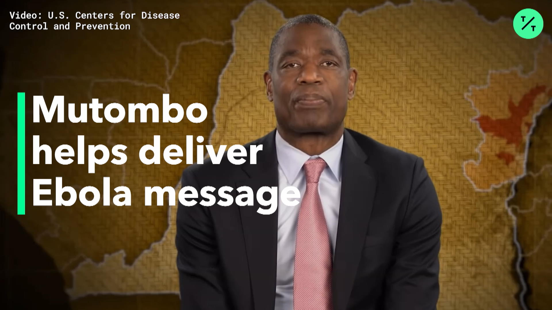 NBA's Mutombo Delivers Ebola Message
