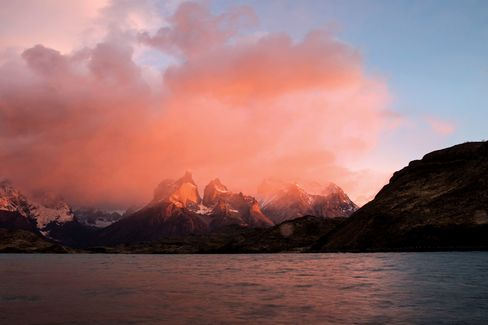 The otherworldly view at Chile's Torres del Paine National Park.