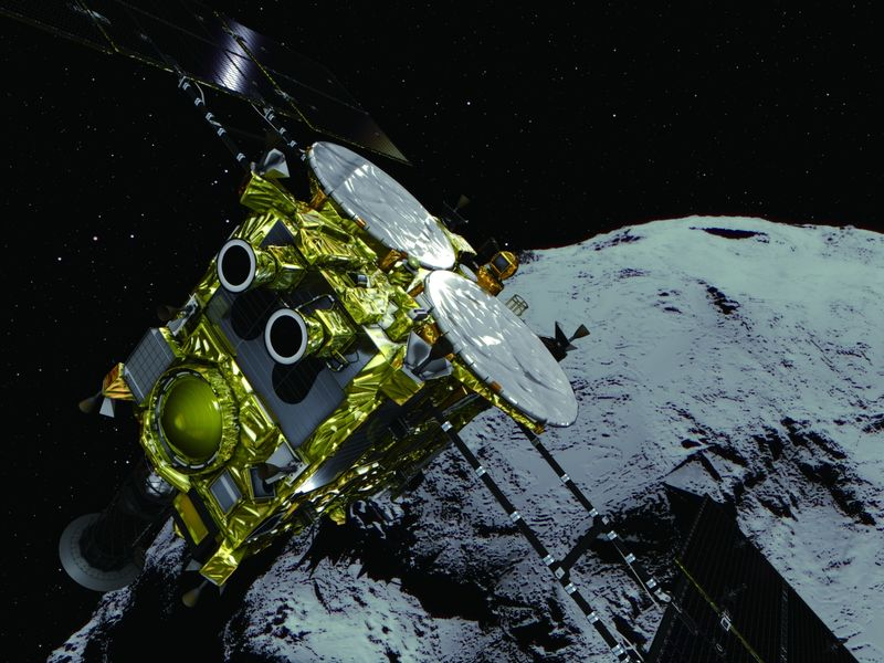 relates to Japanese Probe Makes Asteroid Touchdown After 4-Year Space Chase