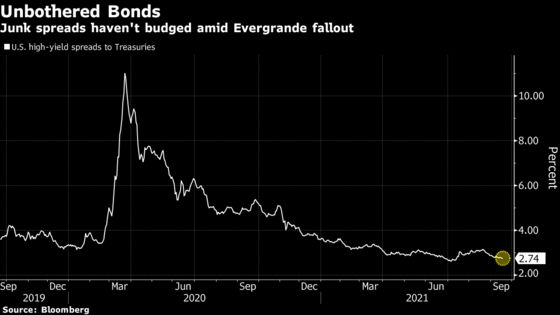 Evergrande Meltdown Ensnares Stocks With Very Little China Links
