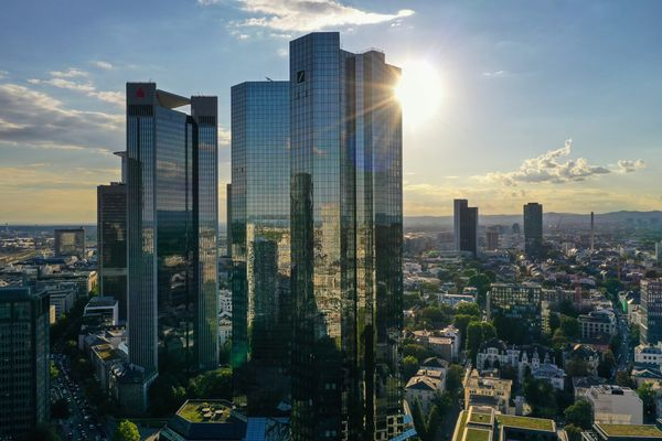 Aerial Views of Germany's Financial Capital