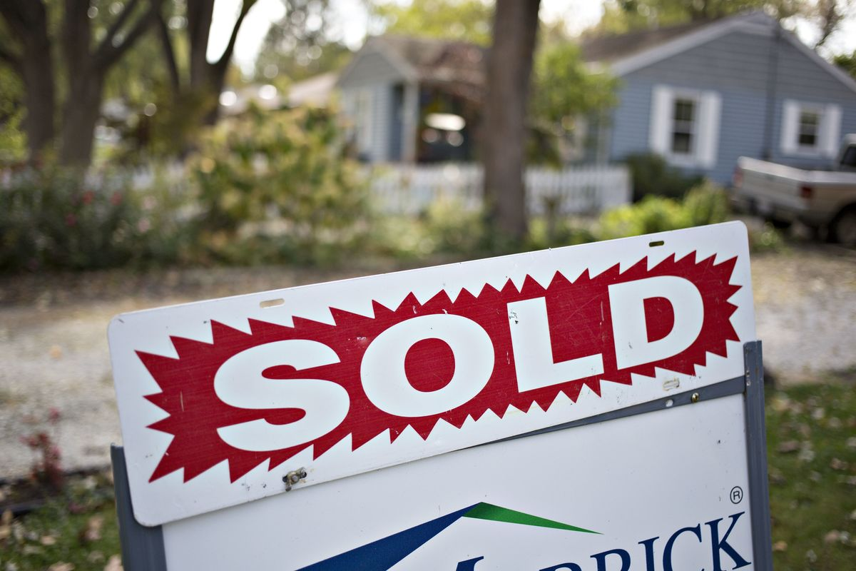 A shortage of housesfor sale is driving up prices.