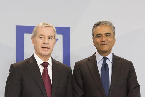 Juergen Fitsche and Anshu Jain