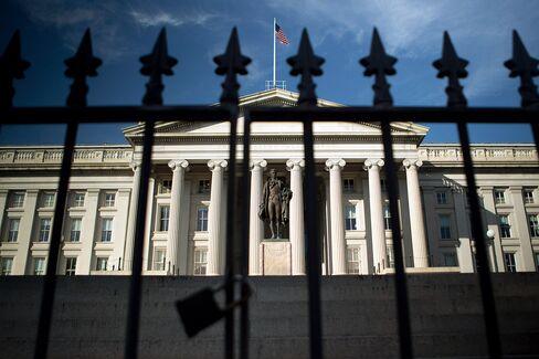 Treasury Bill Auction Shows Demand Damped By U.S. Shutdown