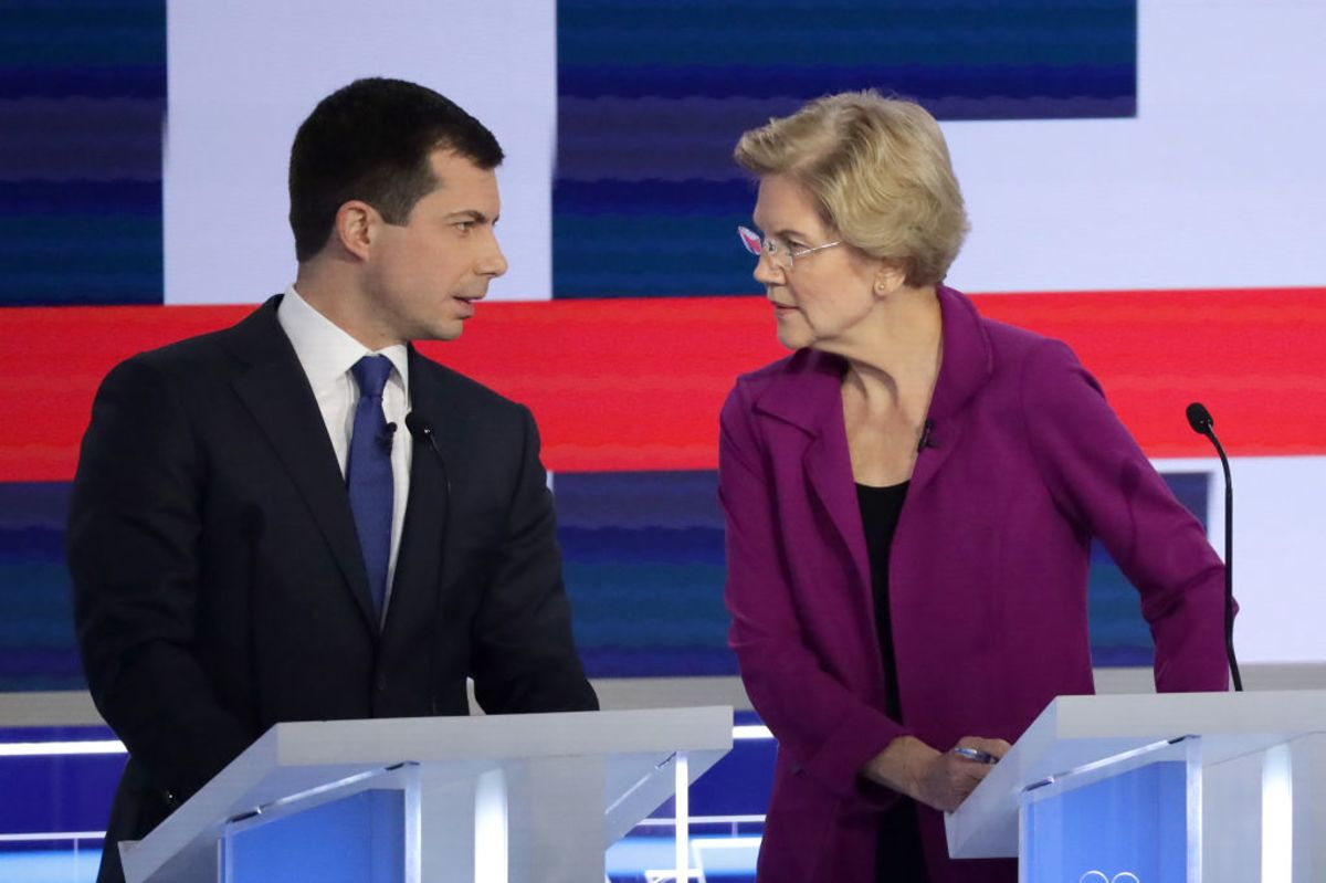 Warren Isn't a Wonk and Buttigieg Isn't a Moderate