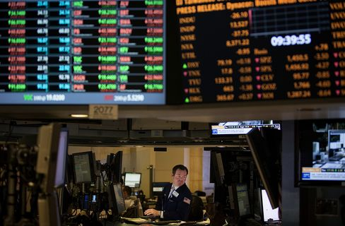 Stocks Drop With Oil as Dollar Rebounds