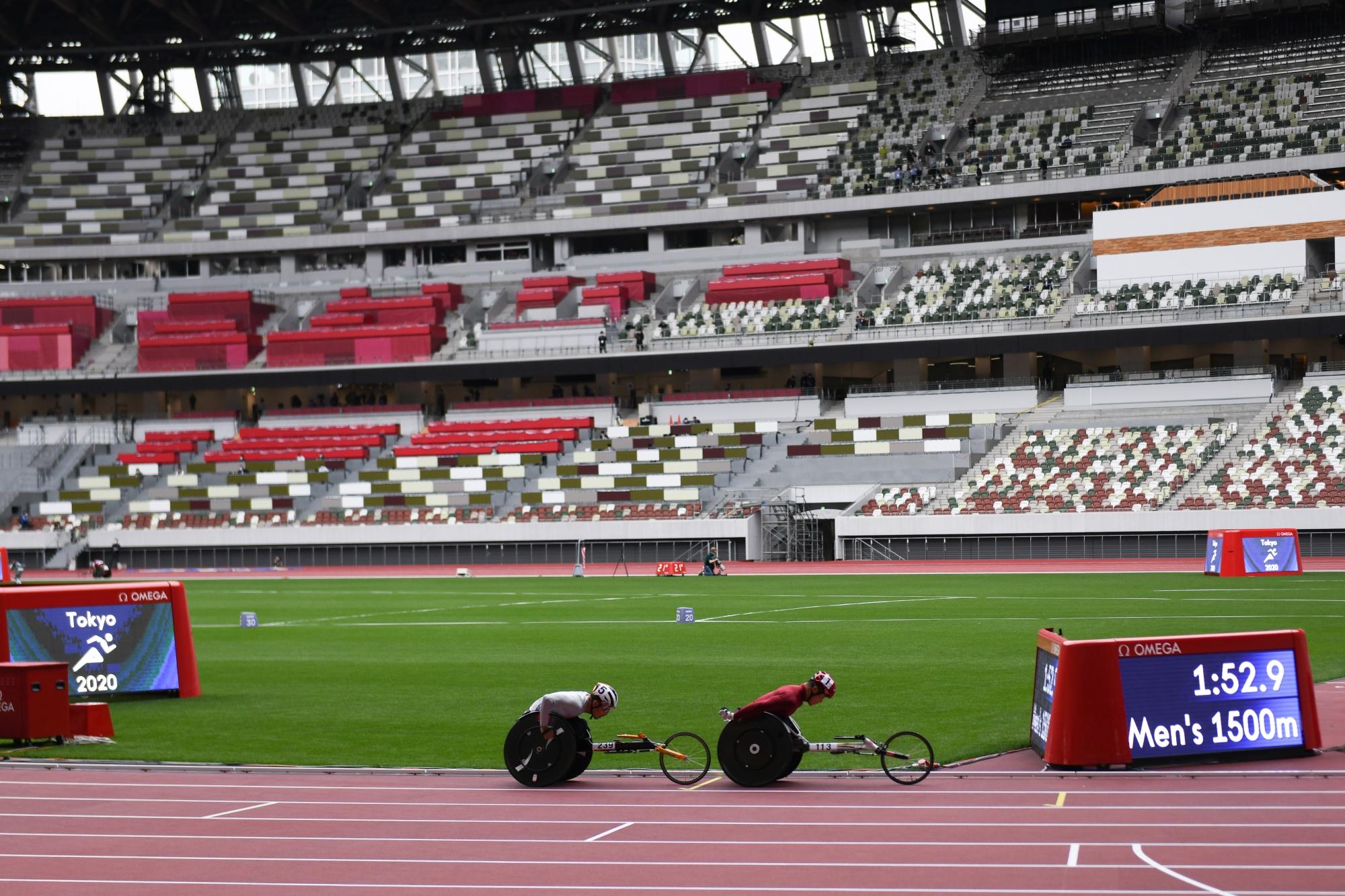 パラリンピック陸上競技競技用テストイベント