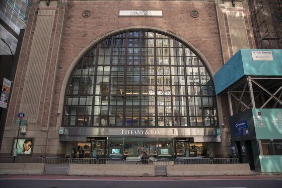 Tiffany Vacancy Looms for Trump in Weak Midtown Manhattan Market