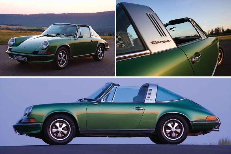Why You Should Invest in a '60s-Era Porsche 911 Targa, Right Now ...