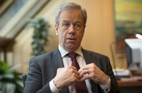 Norges Bank Governor Oeystein Olsen