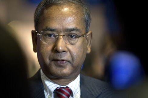 Securities and Exchange Board of India Chairman U.K. Sinha