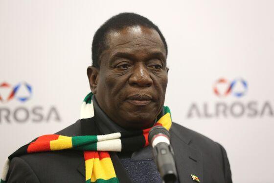 Mnangagwa Seeks Cash in Russia as Zimbabwe Slides Into Chaos