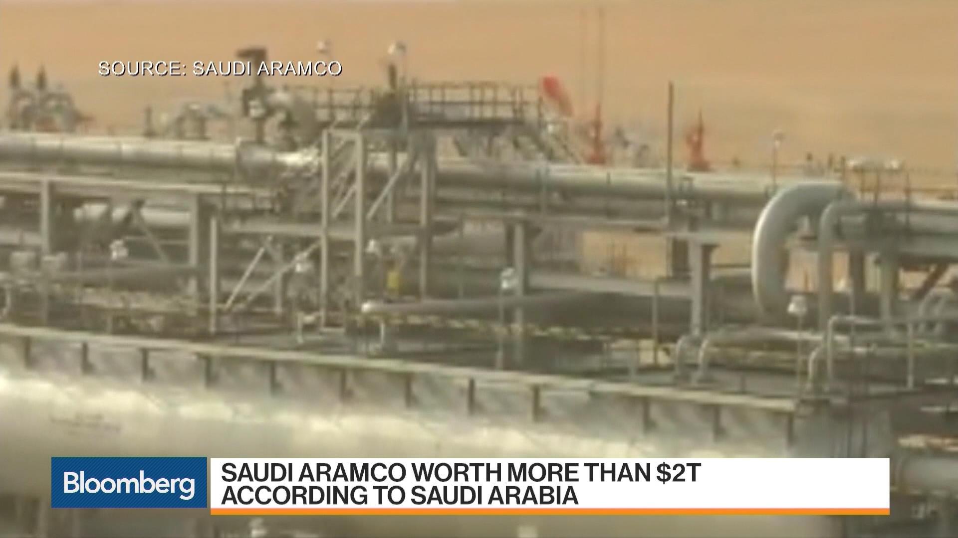 Saudi Arabia Says Aramco Is Worth More Than $2 Trillion