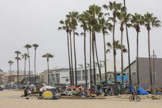 California's Newsom Touts Record Homeless Aid Ahead of Recall