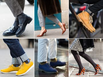It wasn't all about the runways—don't forget to check out our street style shoots, sprinkled among those links above. These shoes were shot in Paris.