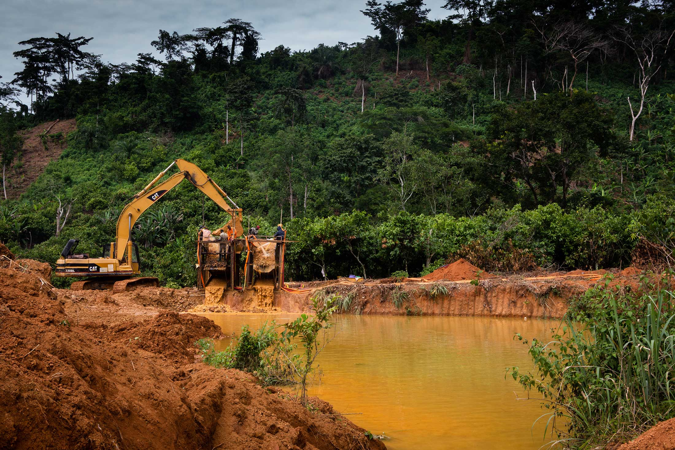 The NASA Veteran Cracking Down on Illegal Gold Miners
