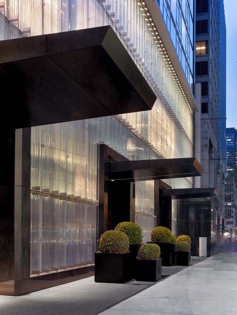 The French crystal company Baccarat opened its first hotel, in Manhattan's Midtown, in March.