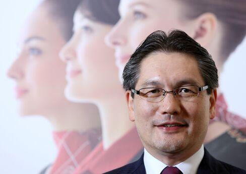 Shiseido President Hisayuki Suekawa