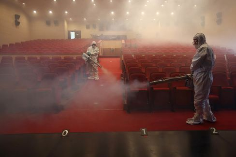 Disinfection Operations In Seoul As MERS Spreads
