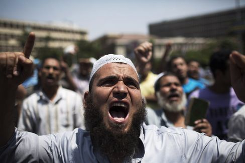 Dozens Killed in Egypt Violence at Military Site Amid Crisis