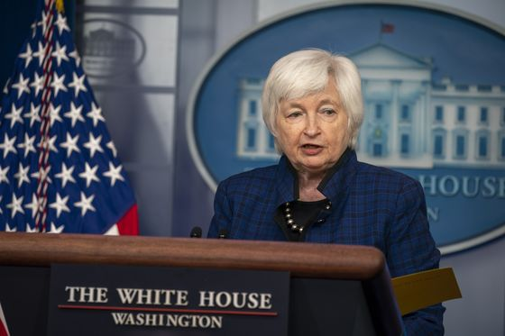 Yellen Pitches Budget Increase for Treasury After Trump-Era Cuts