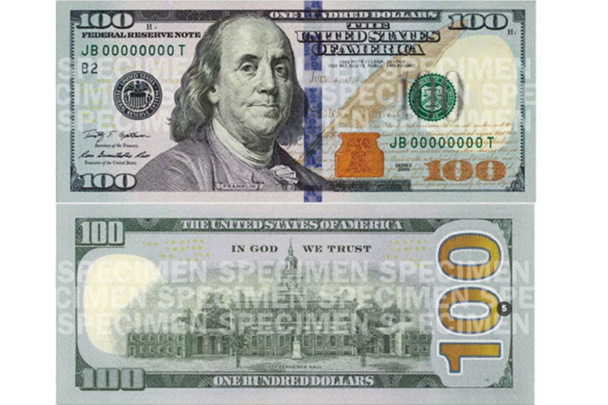 Three Subtle Changes to the Flashy New $100 Bill - Bloomberg