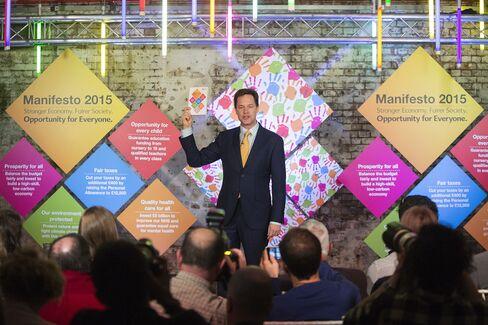 U.K. Liberal Democrats Leader Nick Clegg