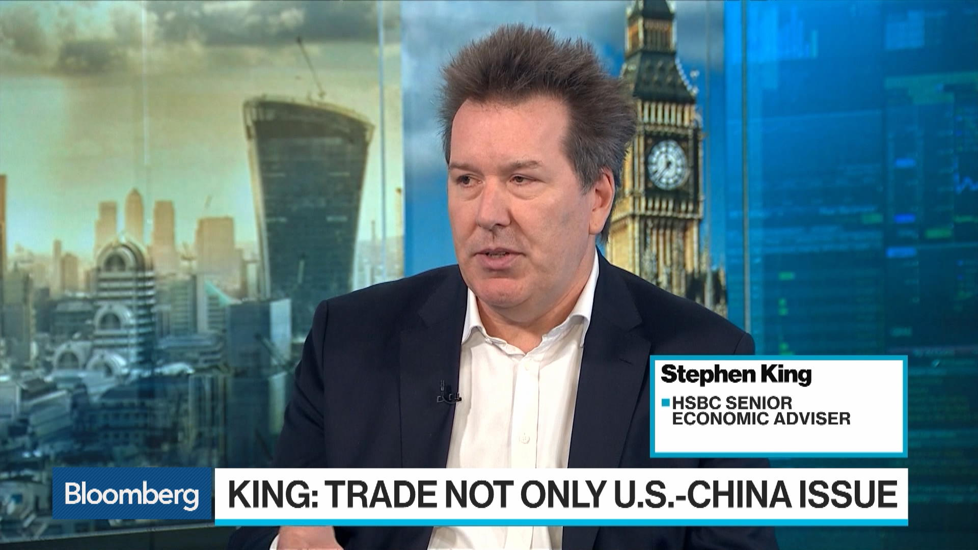 Trade War Is Lose-Lose Situation Says HSBC's King