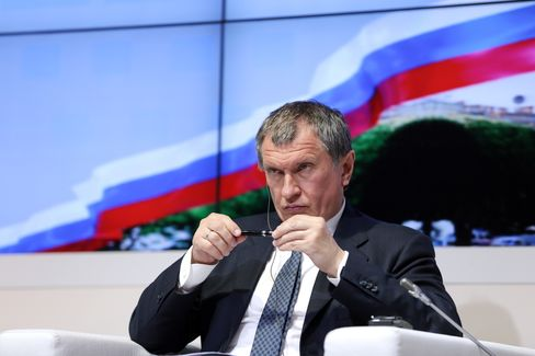 OAO Rosneft Chief Executive Officer Igor Sechin