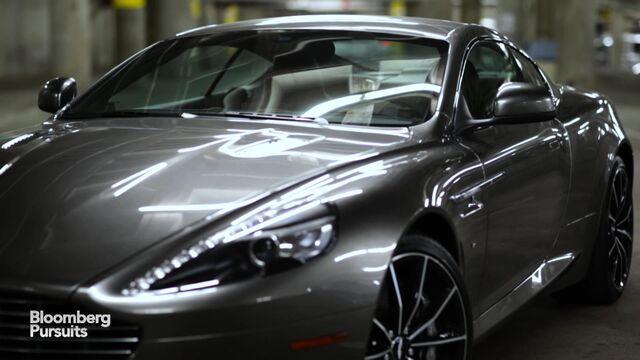 The Aston Martin DB GT Is James Bond Perfect Bloomberg - Aston martin db9