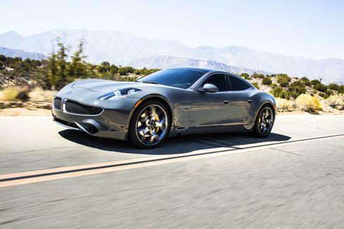 The Karma Revero has the same main design and style as the Fisker Karma, but with subtle updates on its aluminum body.