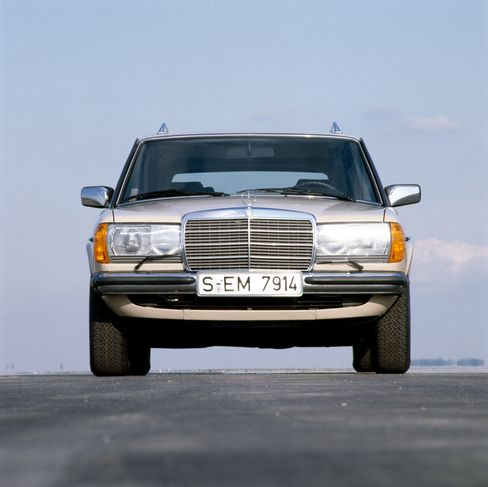 Mercedes sold the wagon from 1978 until the mid-1980s.