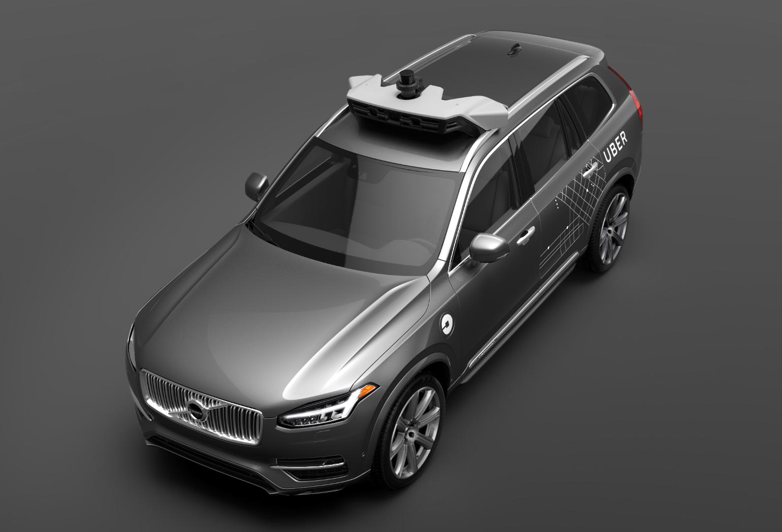 Volvo is expected to deliver a total of 100 specially modified SUVs to Uber by the end of the year.