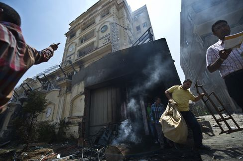 Muslim Brotherhood Cairo's HQ Stormed in Egypt Protest Aftermath