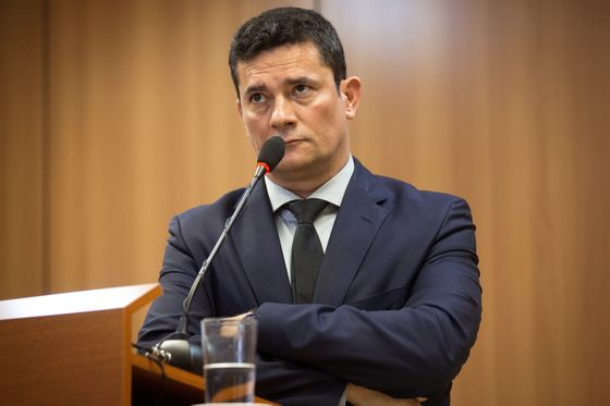Brazil's Moro Hangs by Thread After Bolsonaro Fires Police Chief