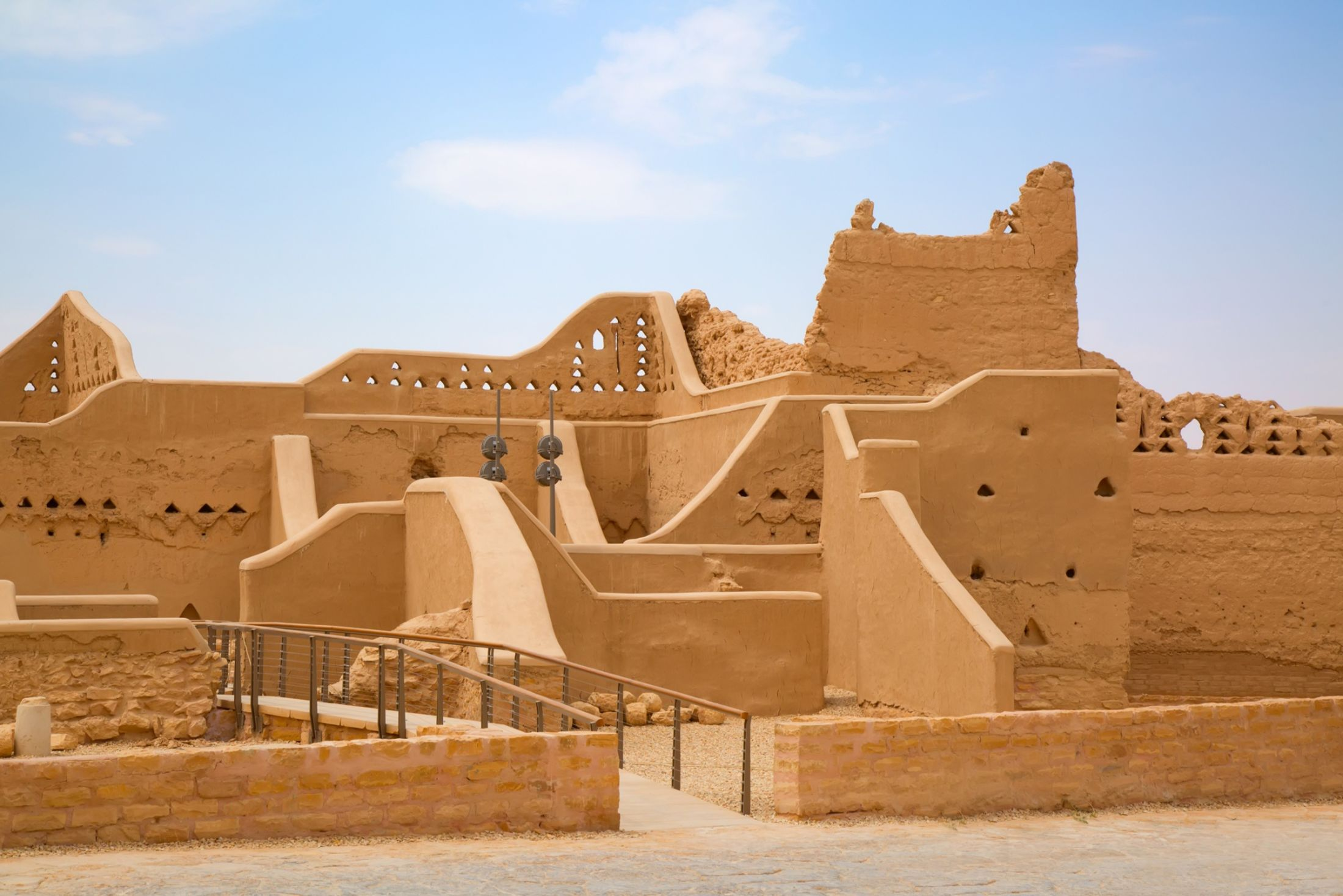 The old city of Diriyah near Riyadh.