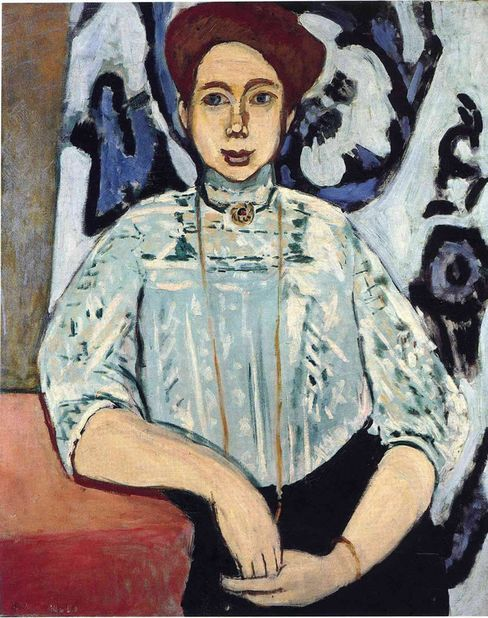 Portrait of Greta Moll by Henri Matisse.