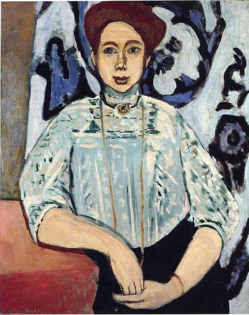 Portrait of Greta Moll by Henri Matisse.