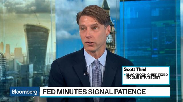 BlackRock Says Market Is 'Too Aggressive' in Pricing in Rate Cut