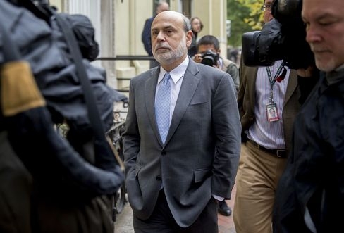 The Brookings Institution's Fellow-In-Residence Ben S. Bernanke