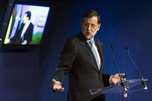 Spain's Prime Minister Rajoy