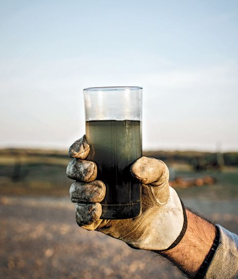 For every barrel of oil produced in Oklahoma, 10 barrels of wastewater are sucked out.