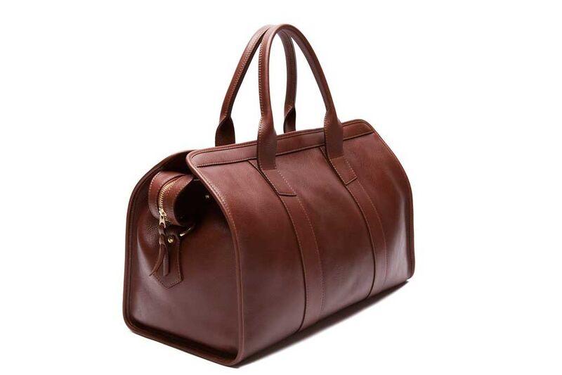 Leather Duffel Bag Lotuff