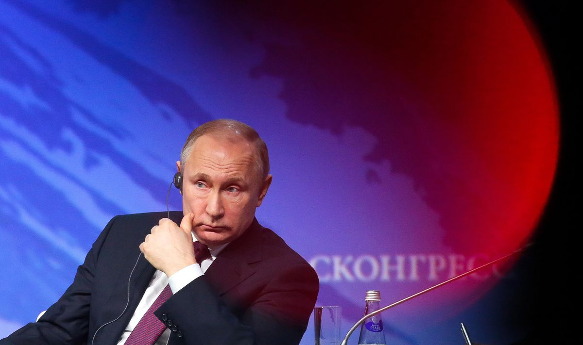TRUMP REPORT: RUSSIA - cover