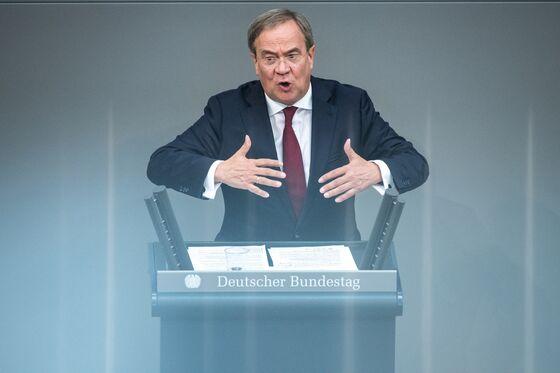 German Front-Runner Stands Firm as Merkel Heir Struggles