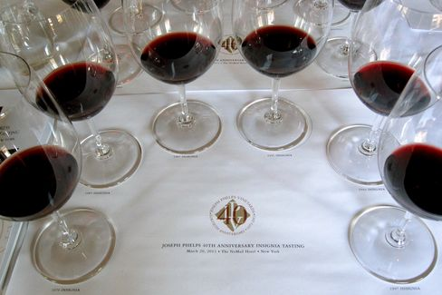 Joseph Phelps Vineyards Vintages