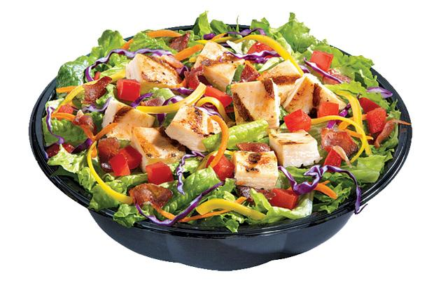 Disgusting: Dairy Queen Grilled Chicken Salad
