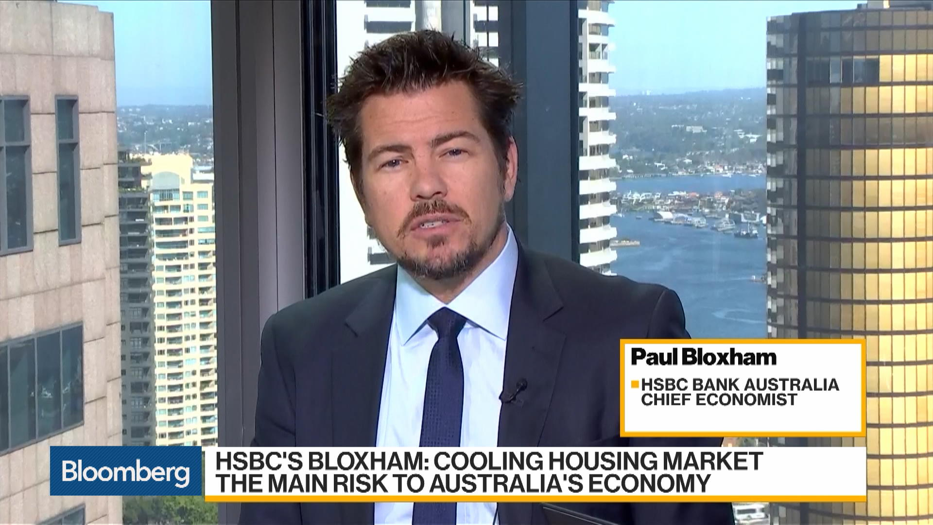 RBA Likely to Raise Rates in 2019, HSBC's Bloxham Says
