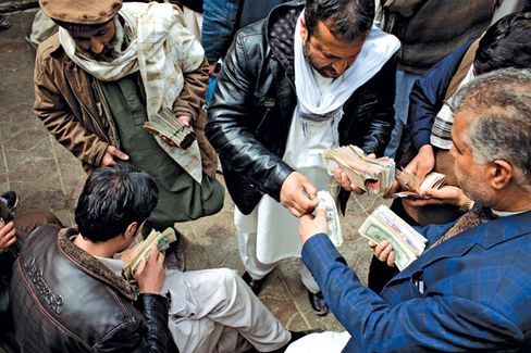 Afghans Start to Take the Money and Run