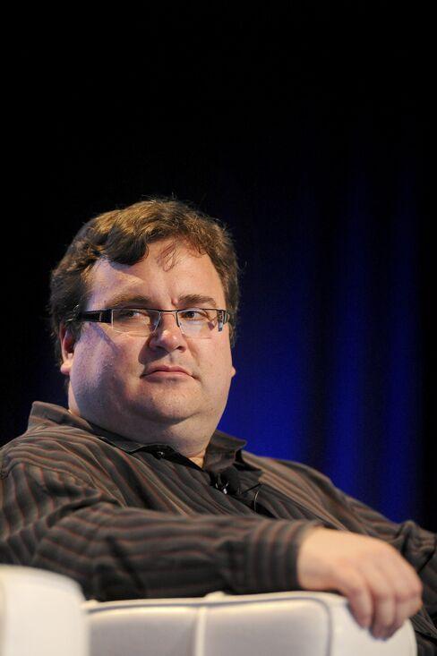 Greylock Partner's Reid Hoffman